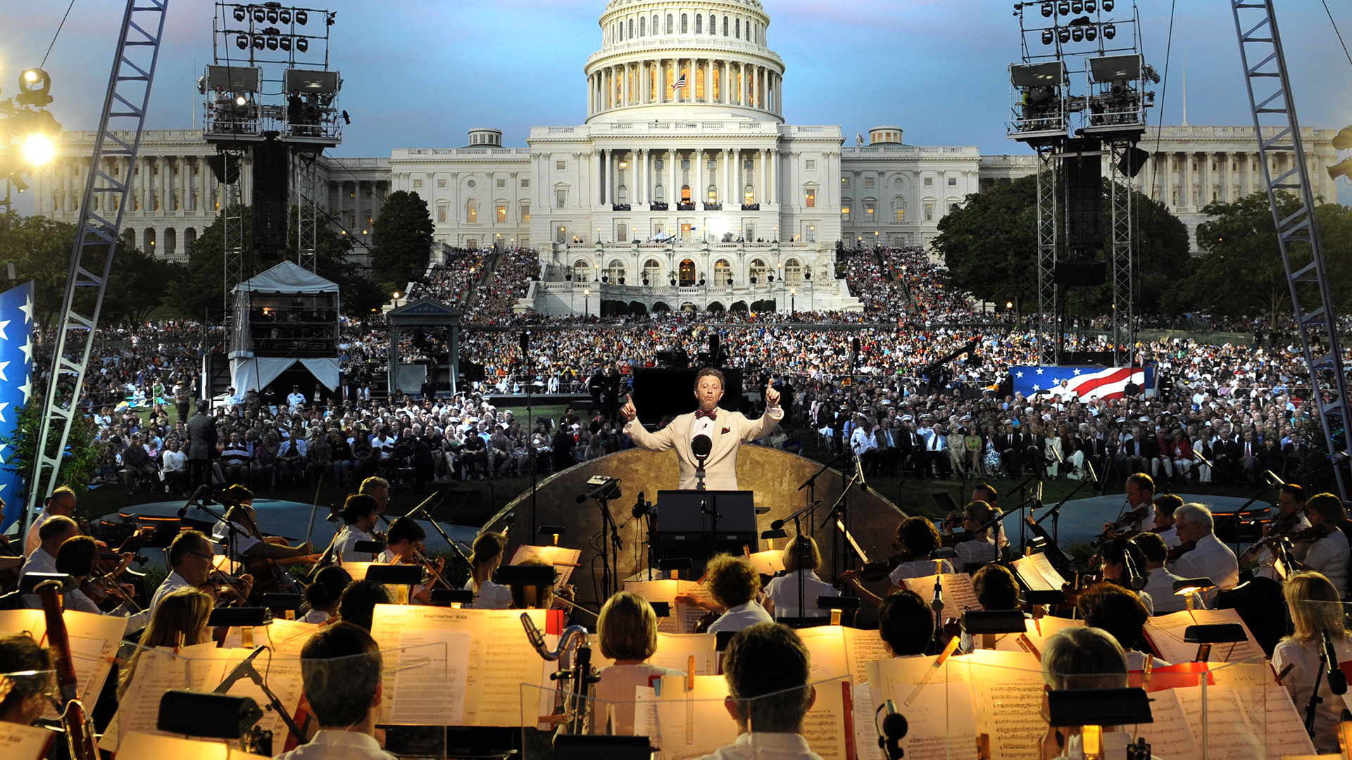 Maestro Jack Everly will lead the National Symphony during the 28th annual broadcast of the NATIONAL MEMORIAL DAY CONCERT, live from the West Lawn of the U.S. Capitol.