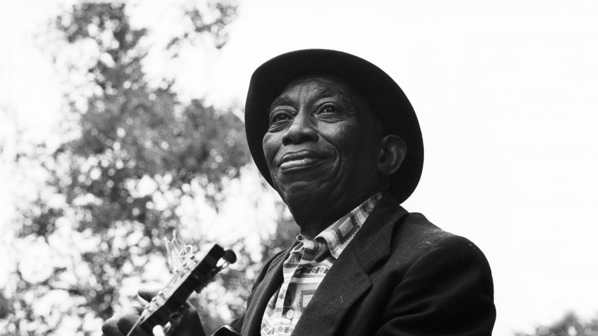 "Mississippi John Hurt at the Newport Folk Festival, 1964 Appearing in ""American Epic: Out of the Many, the One."