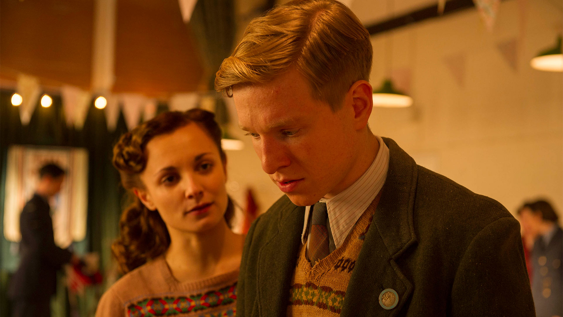 Will Attenborough as David. The final episode of Home Fires airs Sunday, May 7 at 9:00 pm on PBS 6.