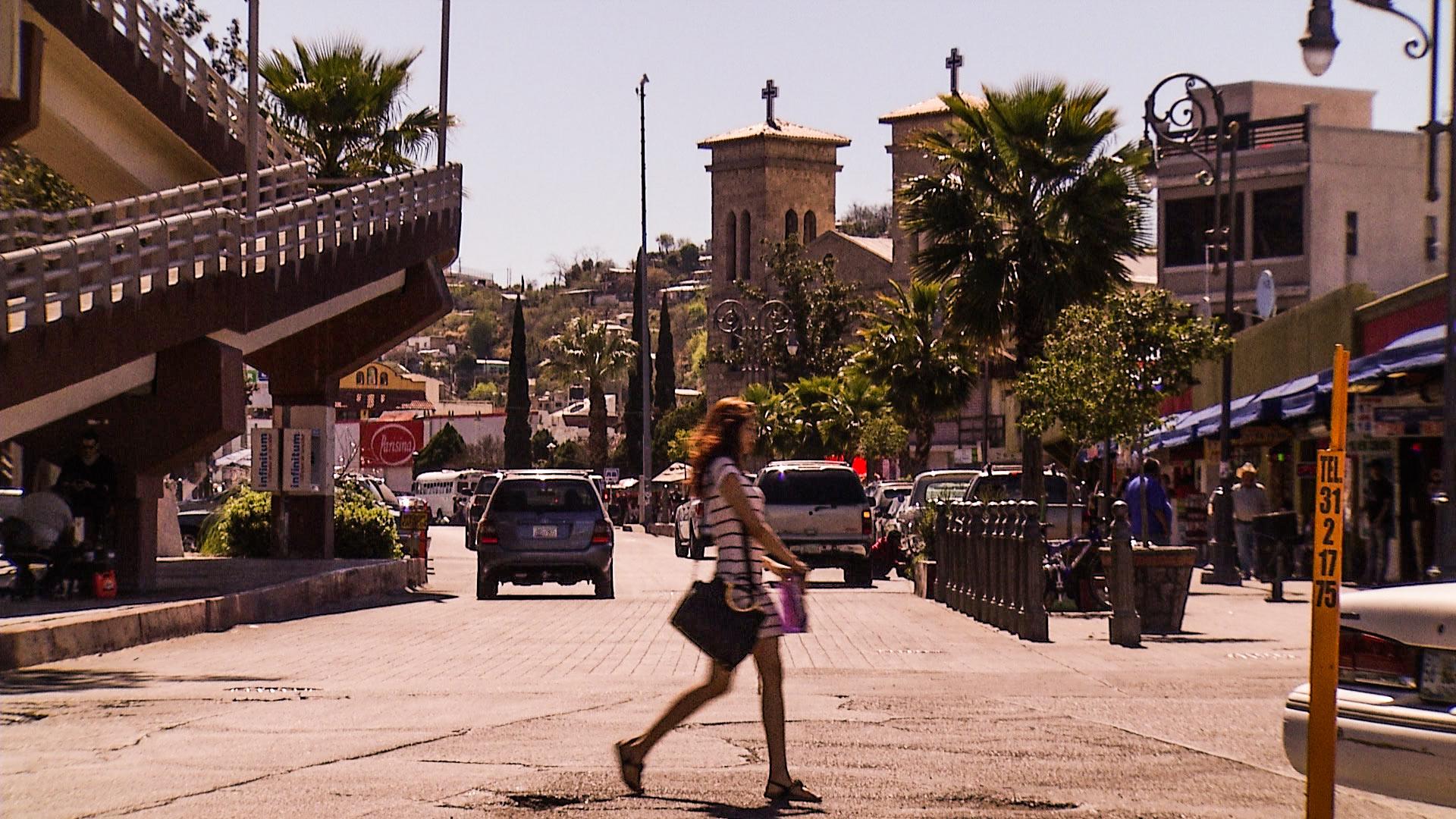 Street Crossing Nogales
