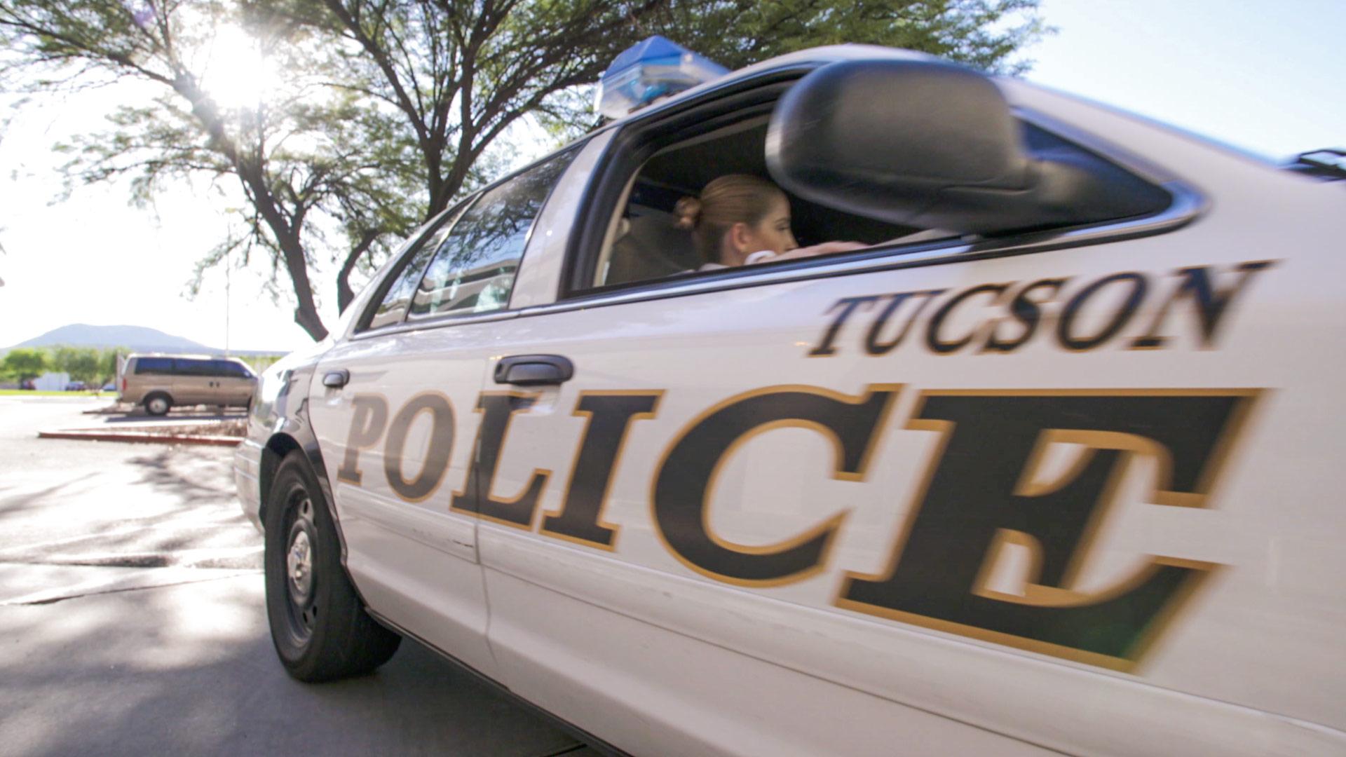 A Tucson Police car.