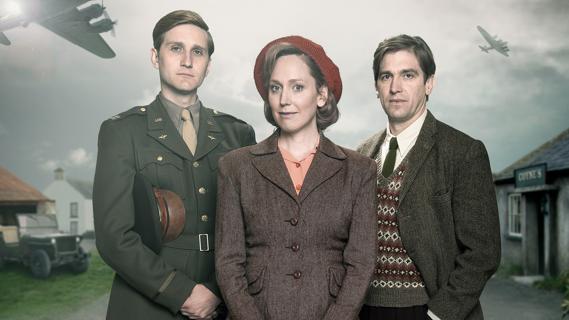 Shown from left to right: Captain Ronald Dreyfuss (AARON STATON), Rose Coyne (HATTIE MORAHAN) and Michael Coyne (OWEN MCDONNELL)