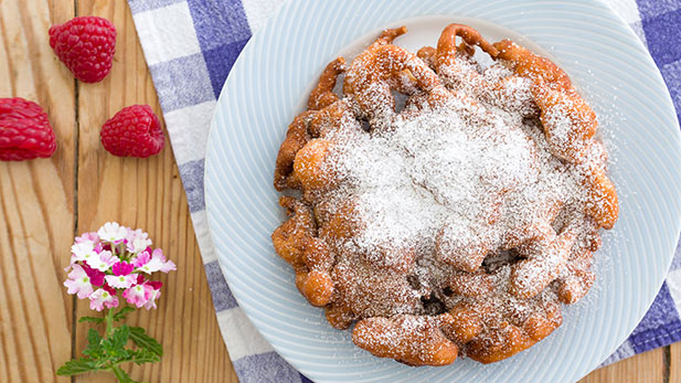 A Spanish and Mexican twist on a favorite state fair pastry.