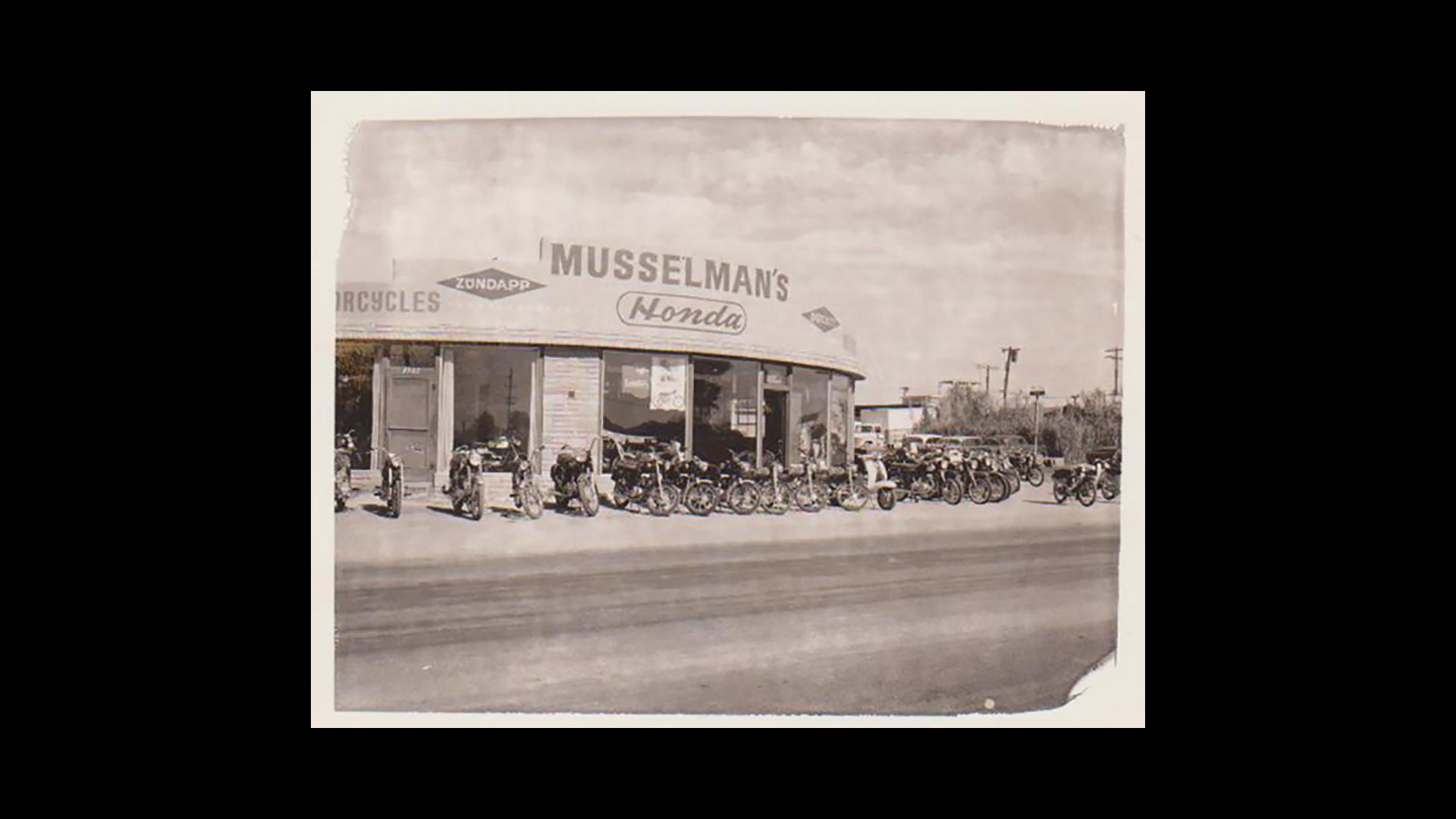 Musselman Honda 1960s