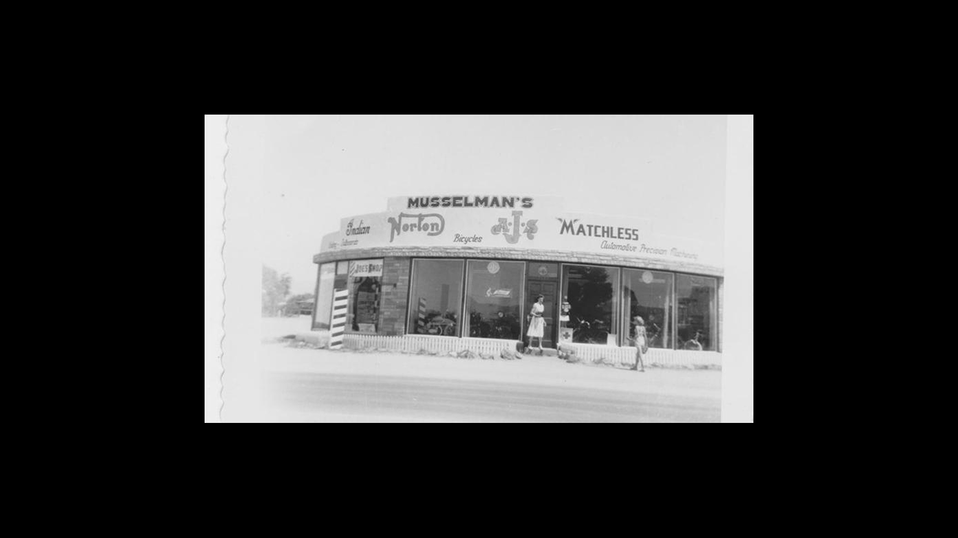 Musselman Honda early 1950s