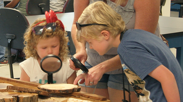 There are plenty of activities for kids at the UA Lunar and Planetary Lab's summer open house.