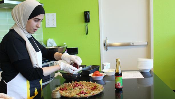 Syrian chef Shahd Baeij