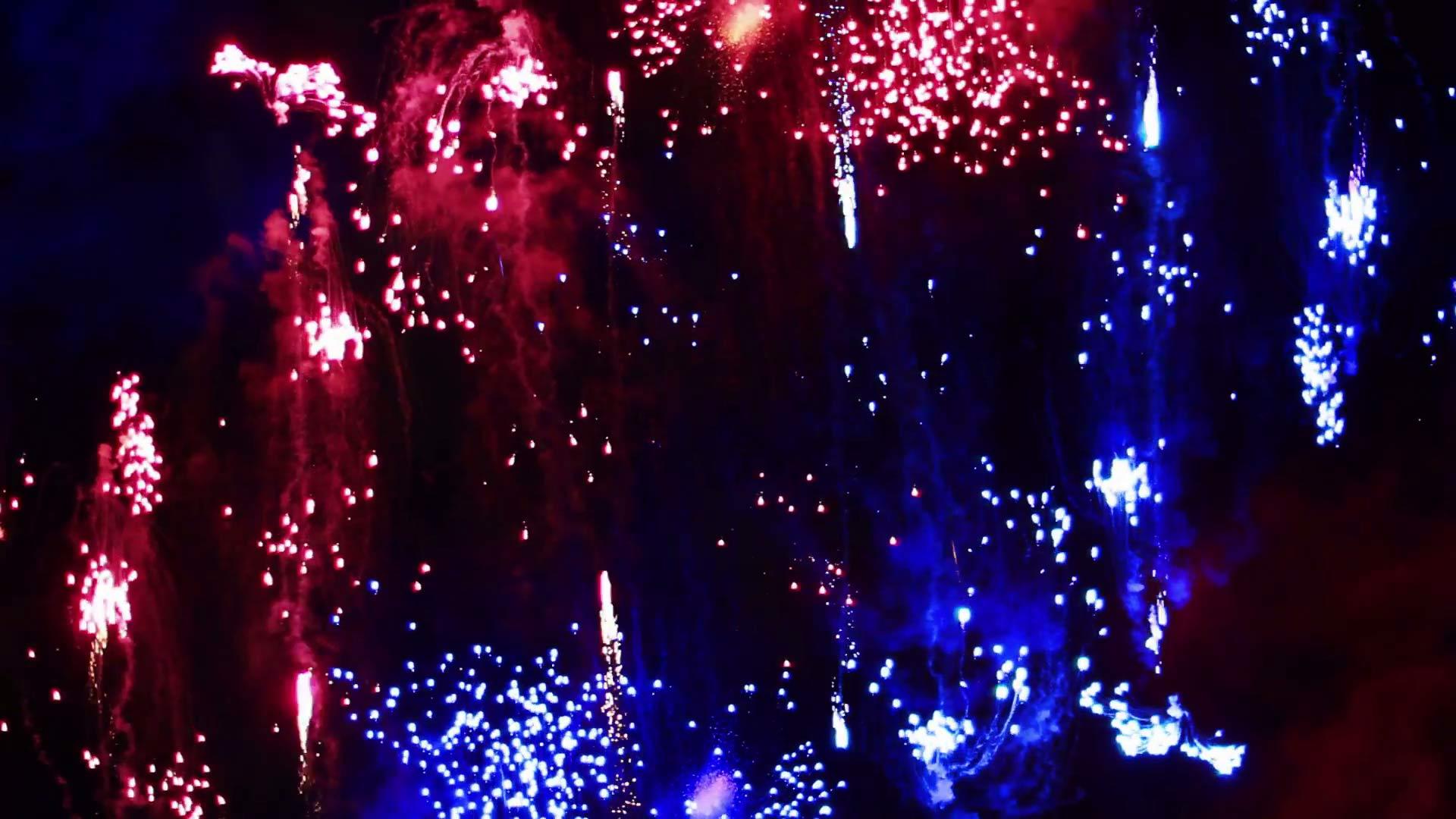 Fireworks bg