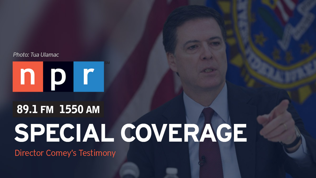 Watch live video of Director Comey's testimony here beginning at 7 a.m on Thursday, July 8.