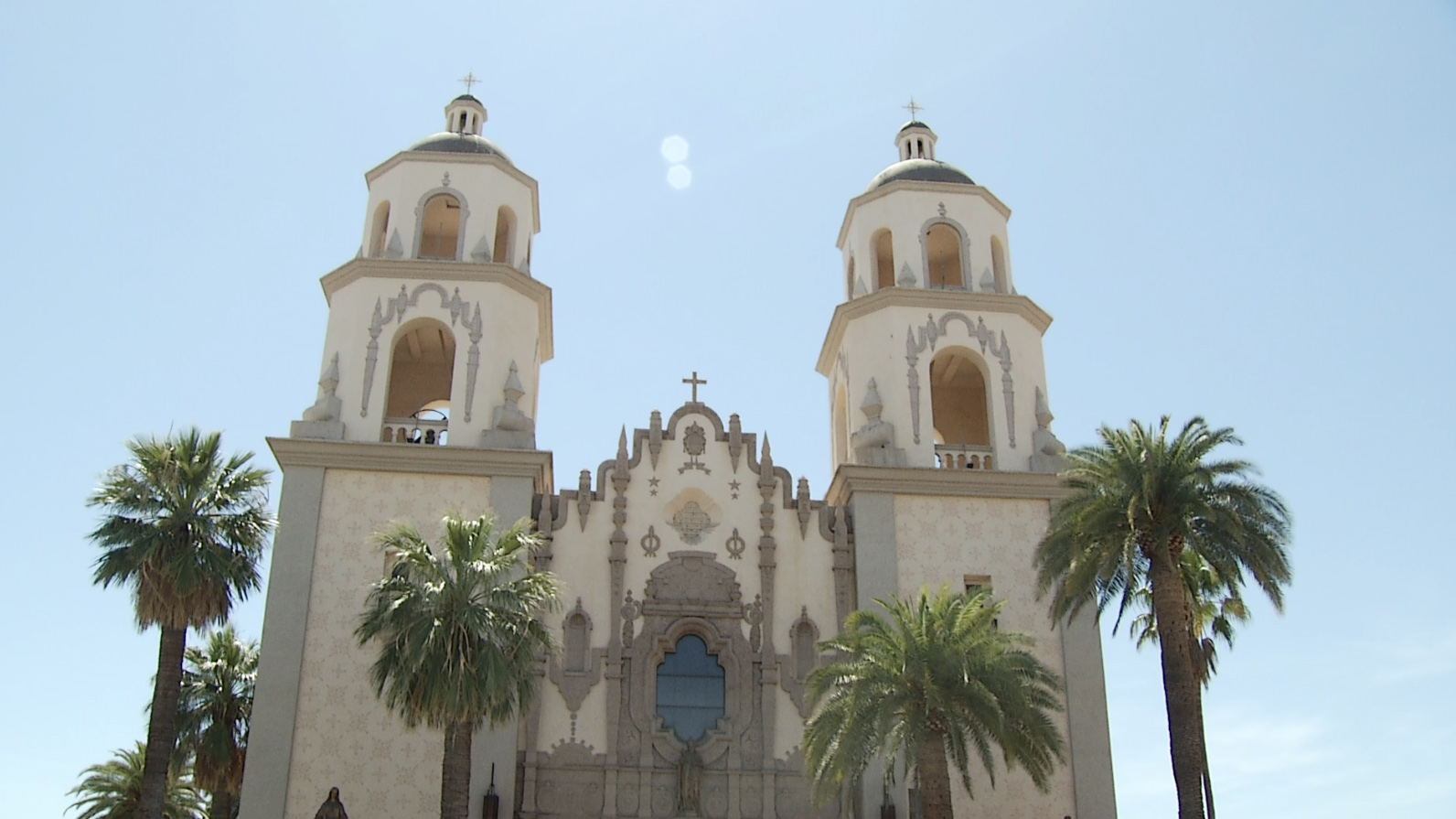 St. Augustine's Cathedral in downtown Tucson.