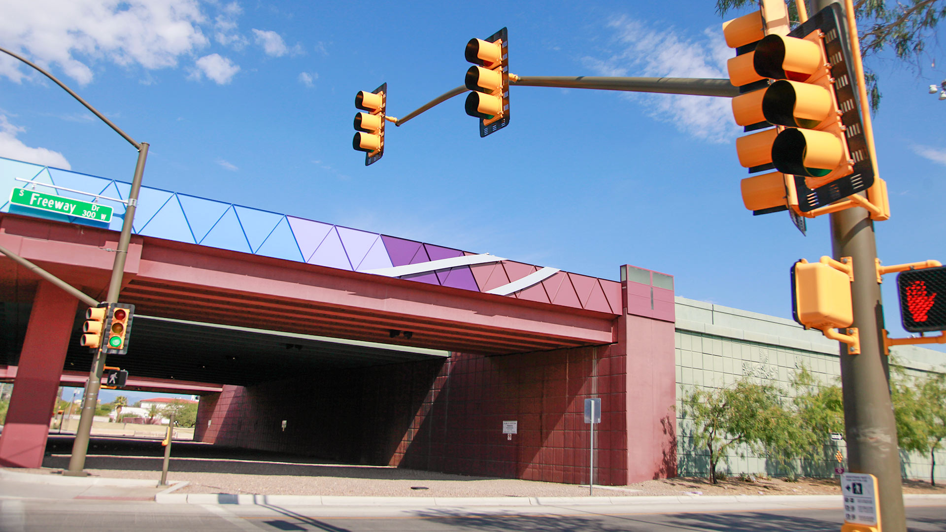The proposed site of a skate park is at the I-10 underpass at Cushing and Freeway.