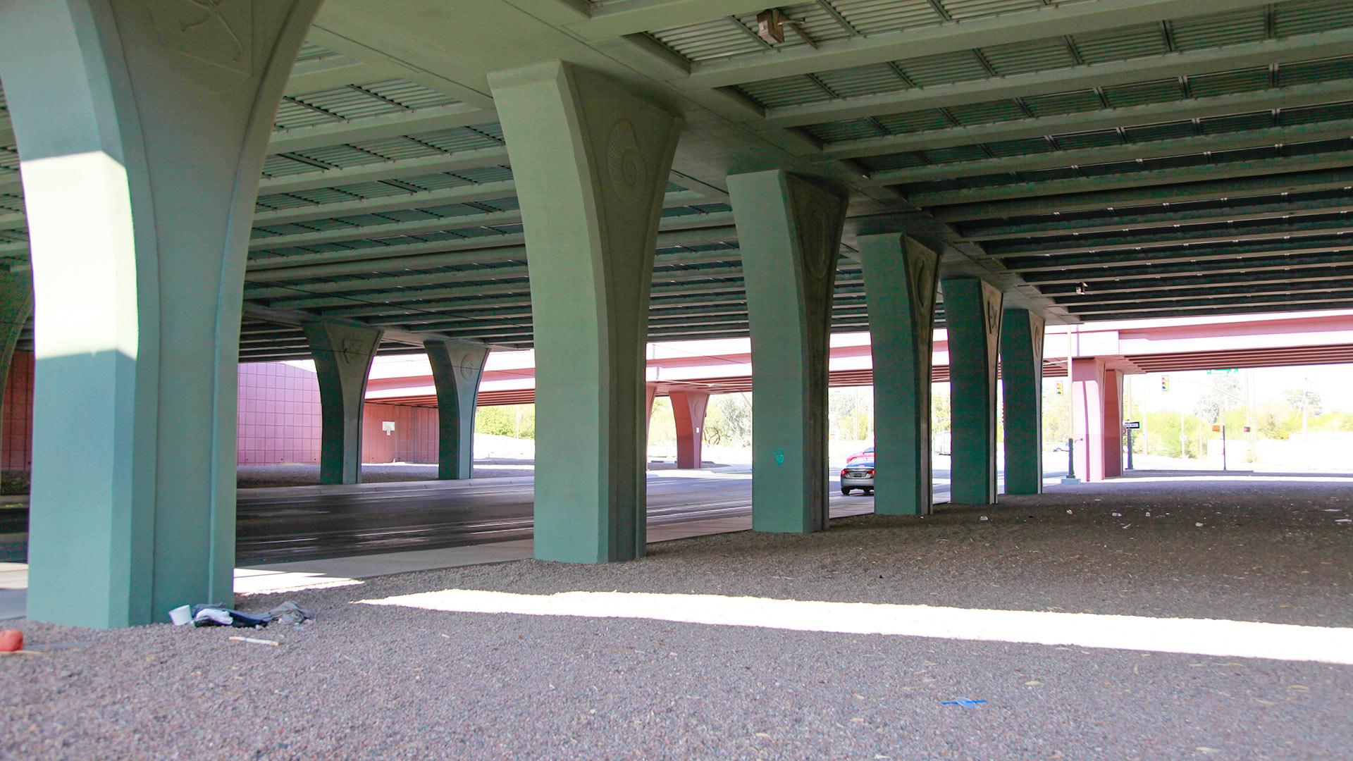 Skatepark underpass