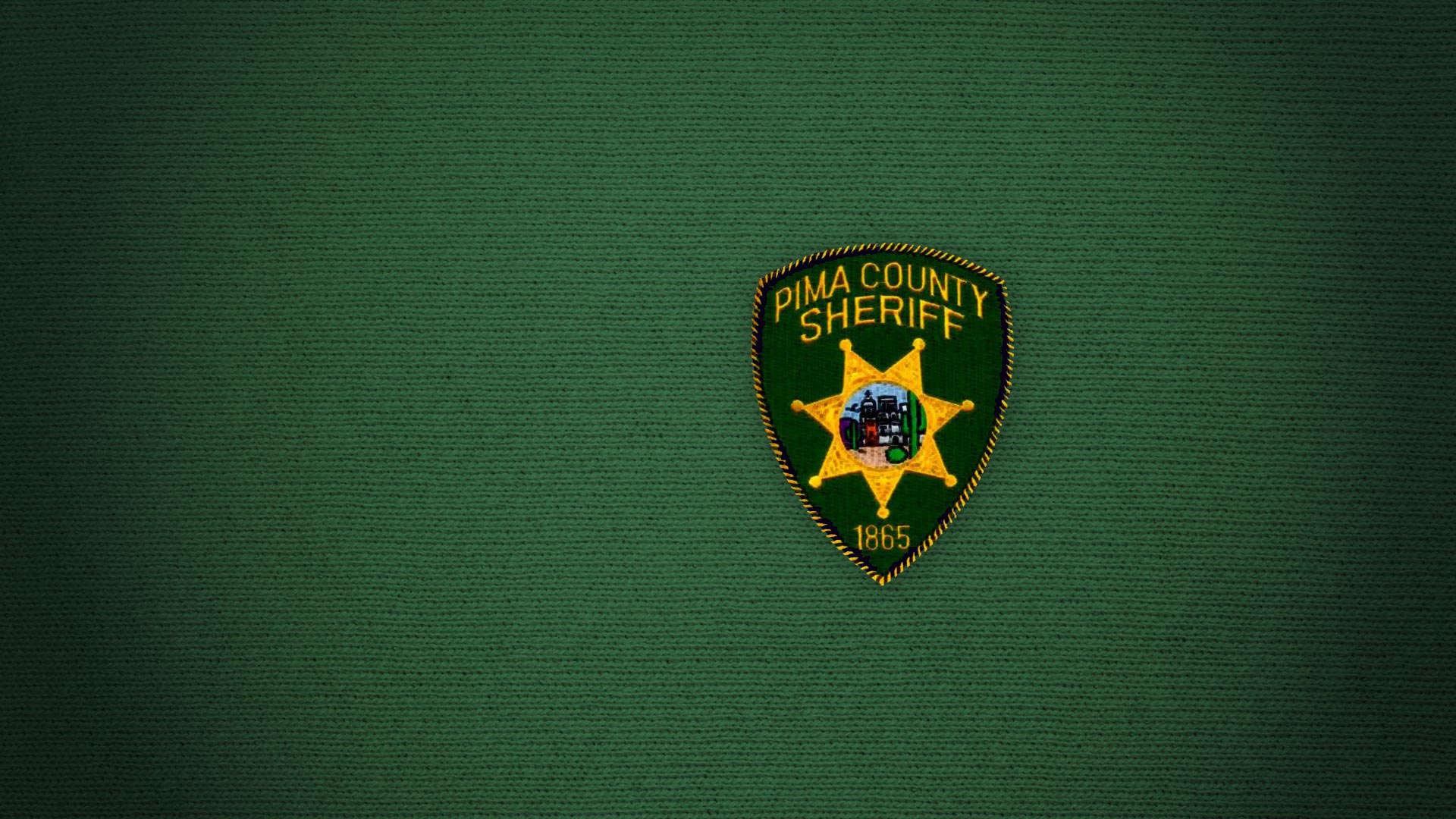 A patch for the Pima County Sheriff's Dept.