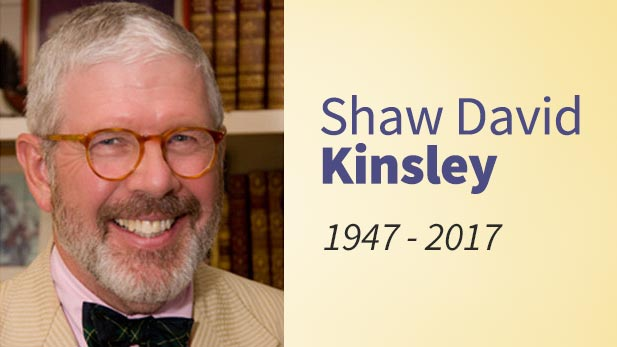 Shaw David Kinsley, a former host at Classical 90.5, has passed away.