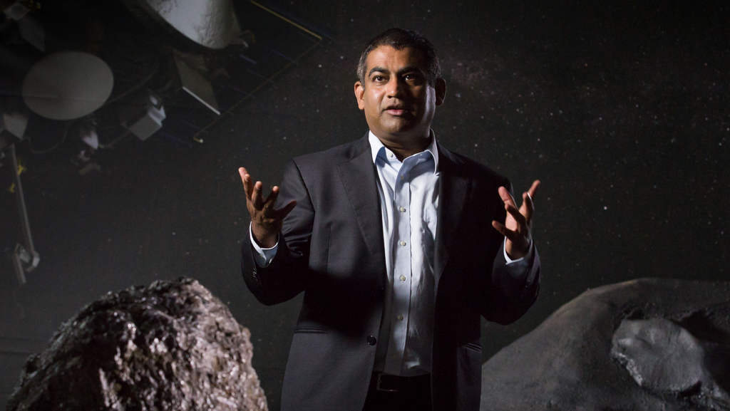 University of Arizona planetary scientist Vishnu Reddy is an asteroid expert.