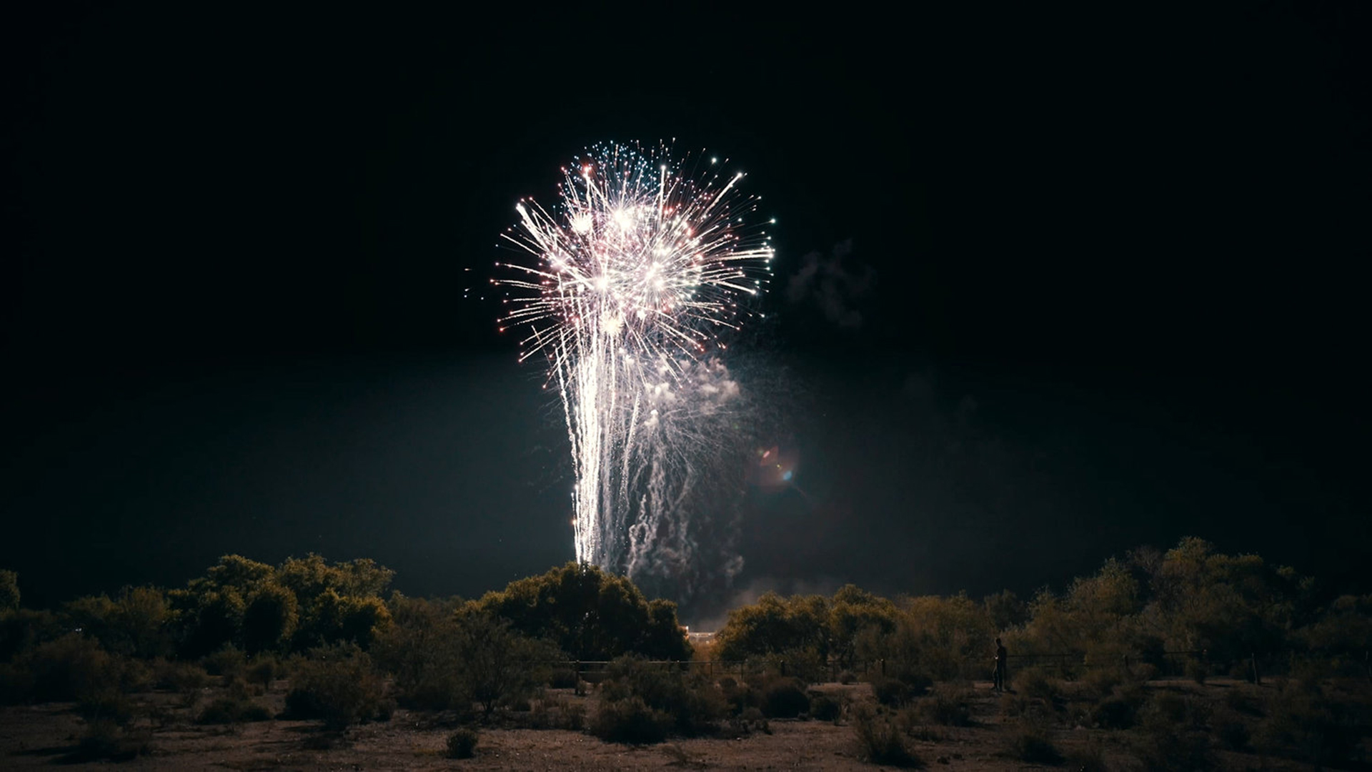Fireworks in Marana, AZ