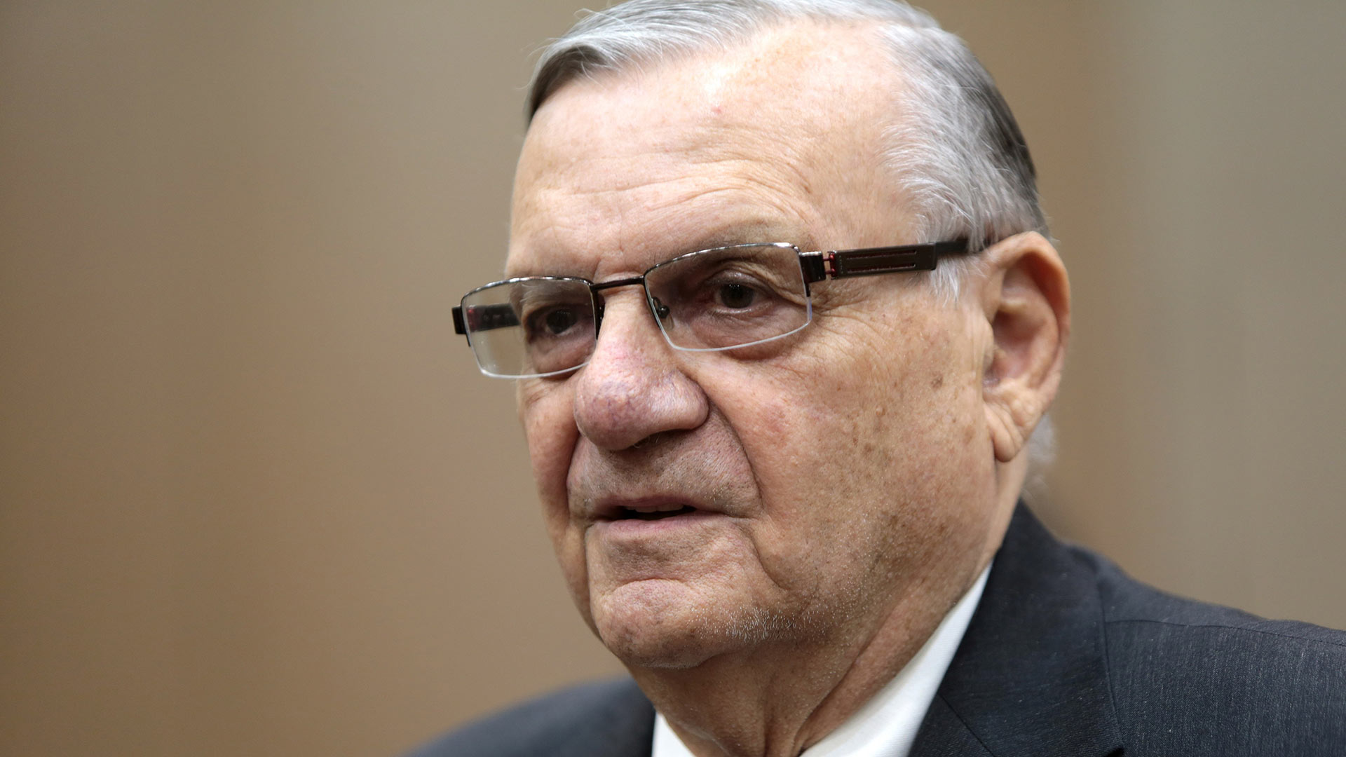 Former Maricopa County Sheriff Joe Arpaio in August 2016.
