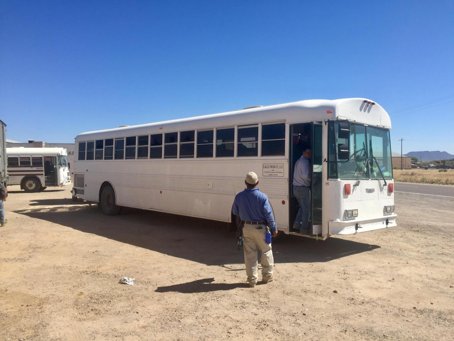 Farmworker bus