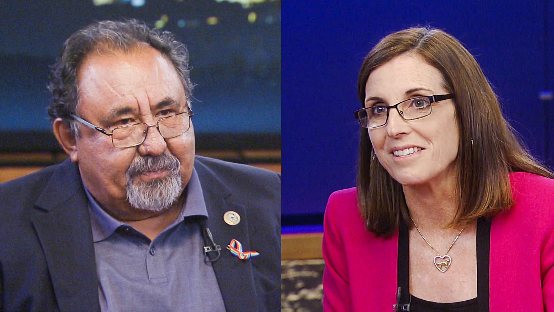 U.S. Reps. Raúl Grijalva and Martha McSally.