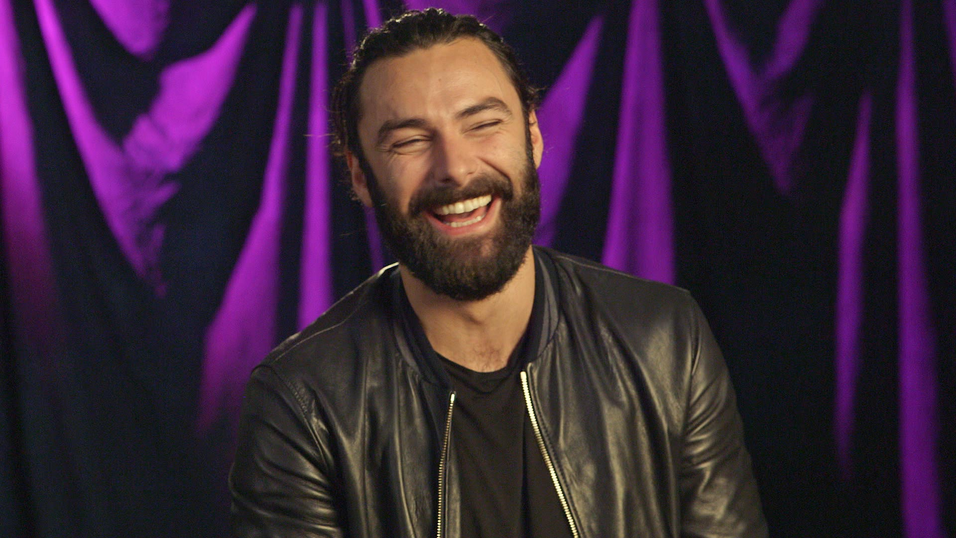 Aidan Turner talks about his character Ross Poldark