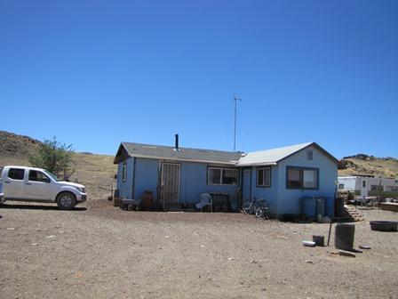 Bennett Freeze Navajo home