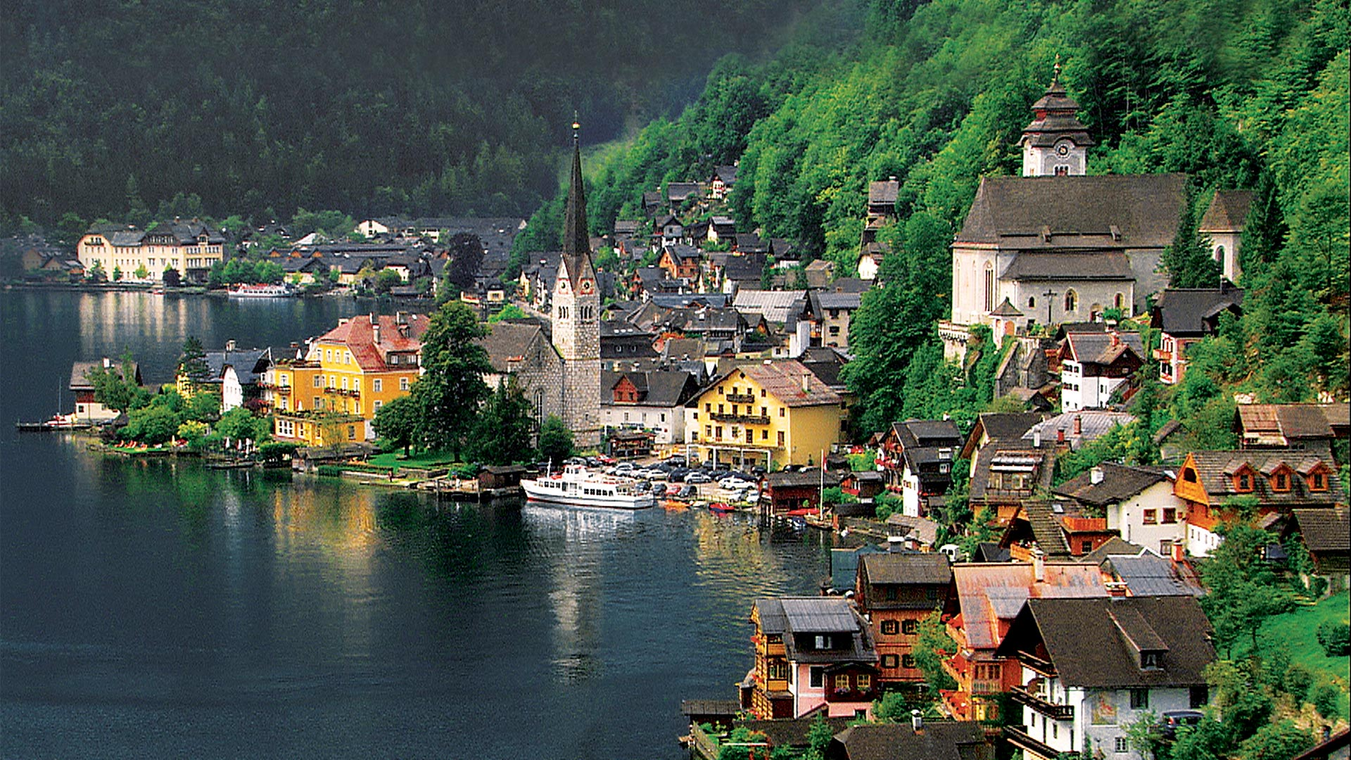 Hallstatt, Austria's most beautiful lake town