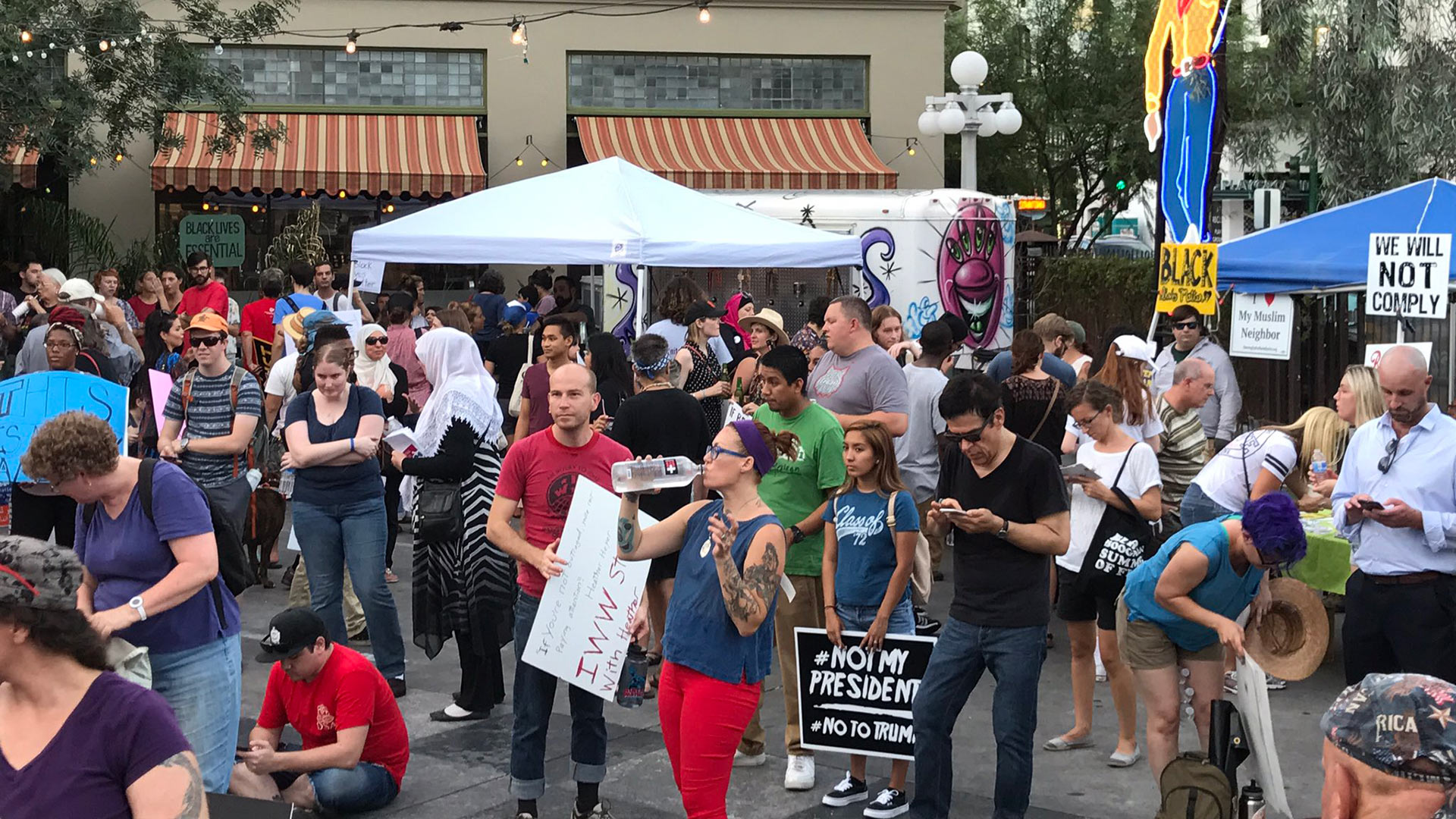 Tucson March Charlottesville rally