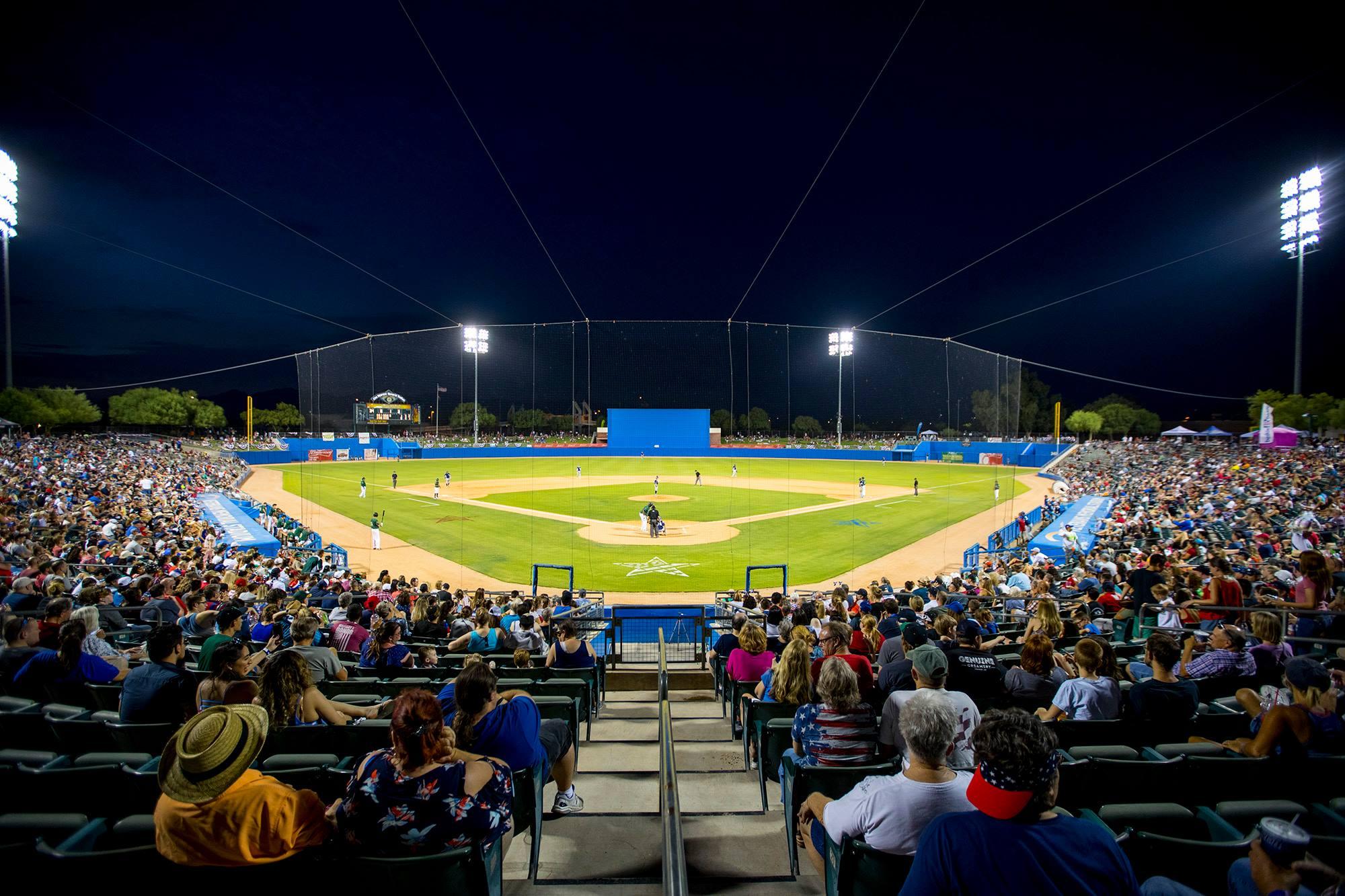 Kino Veterans Memorial Stadium in Tucson.