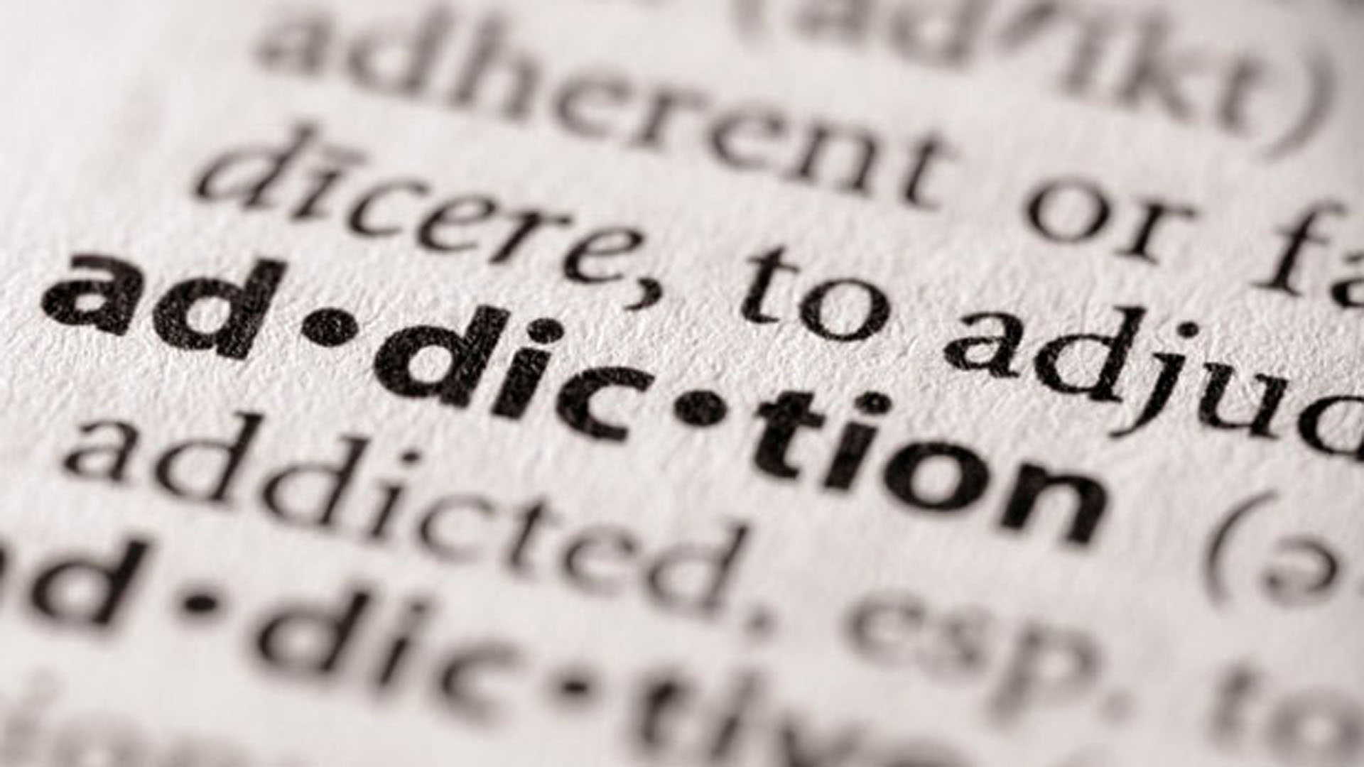 addiction dictionary hero