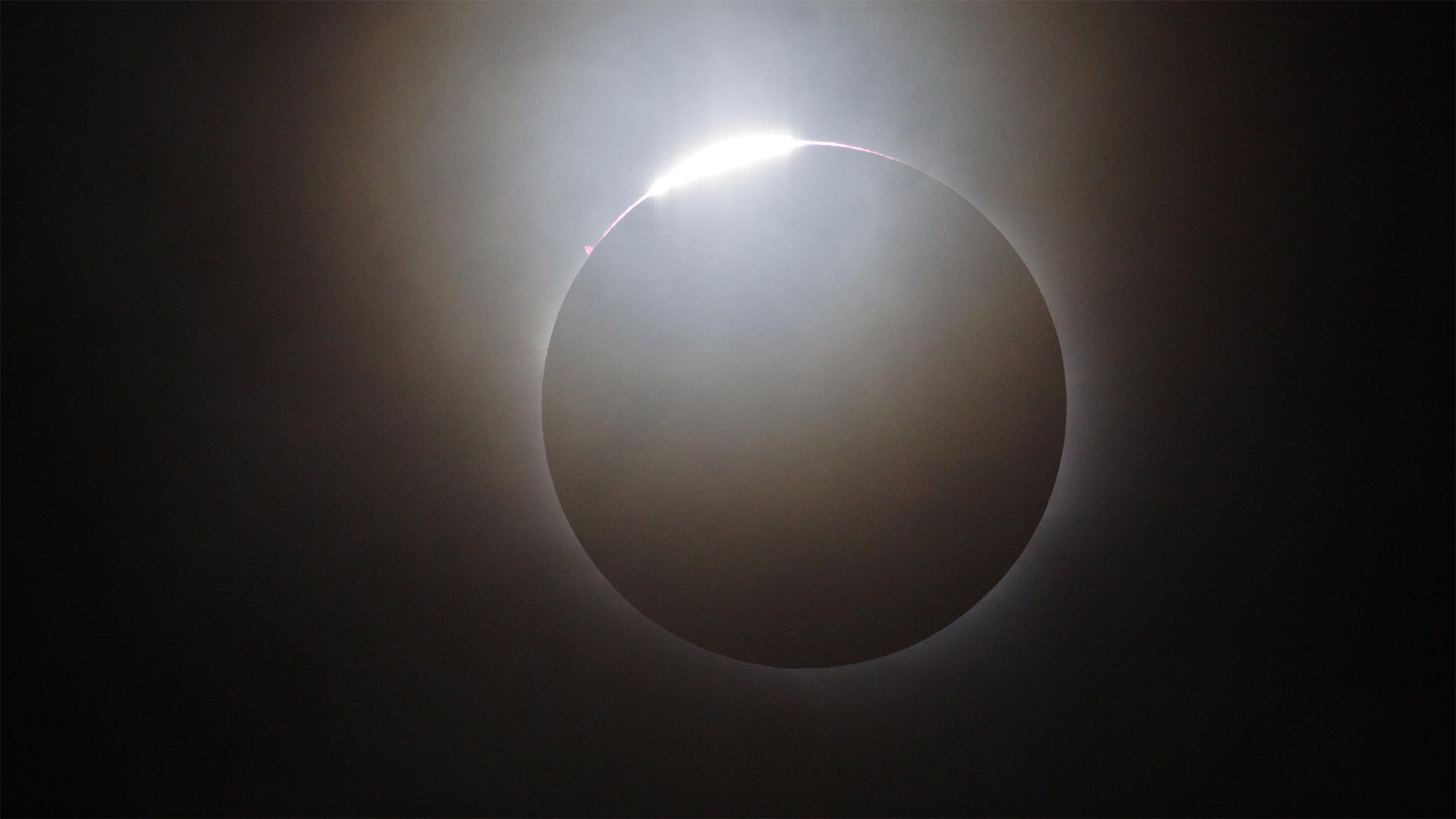 Diamond ring during total solar eclipse of 2006