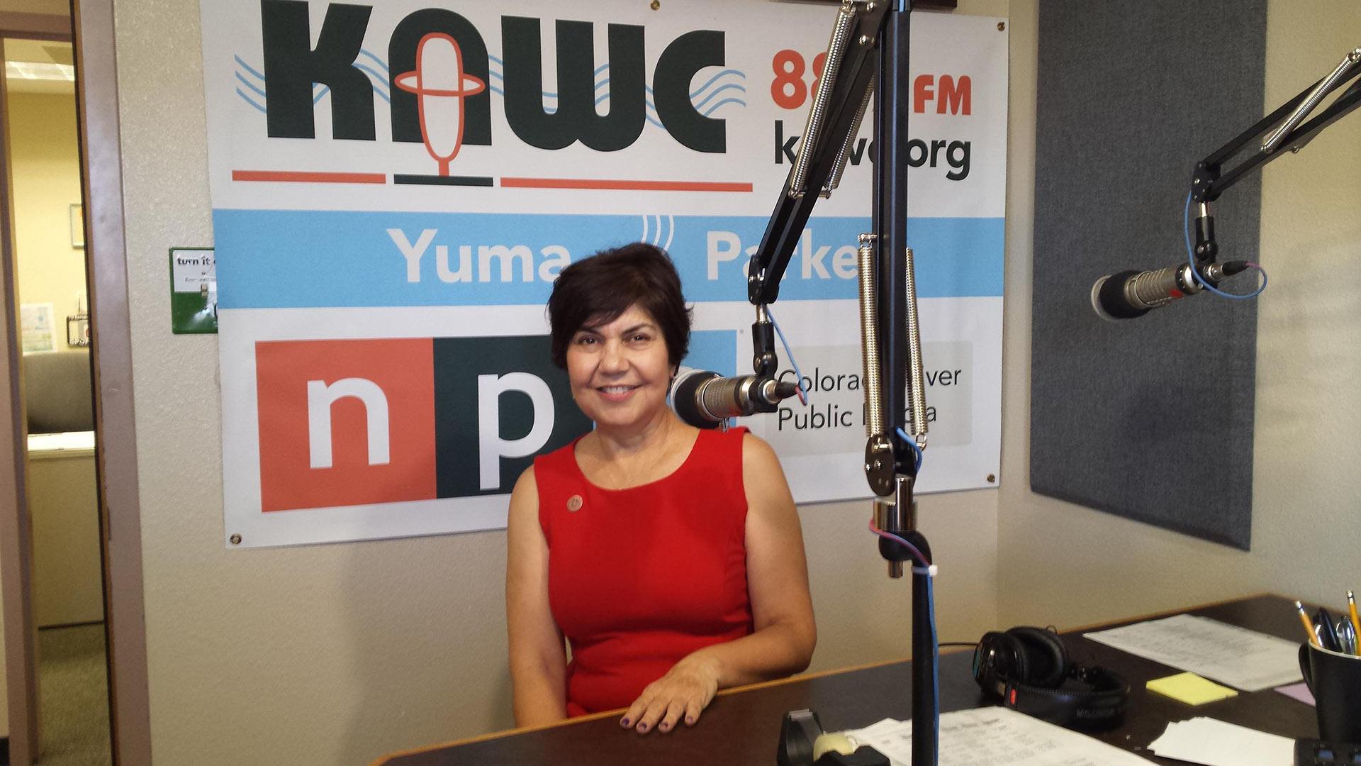 Arizona Representative Charlene Fernandez (D-4).