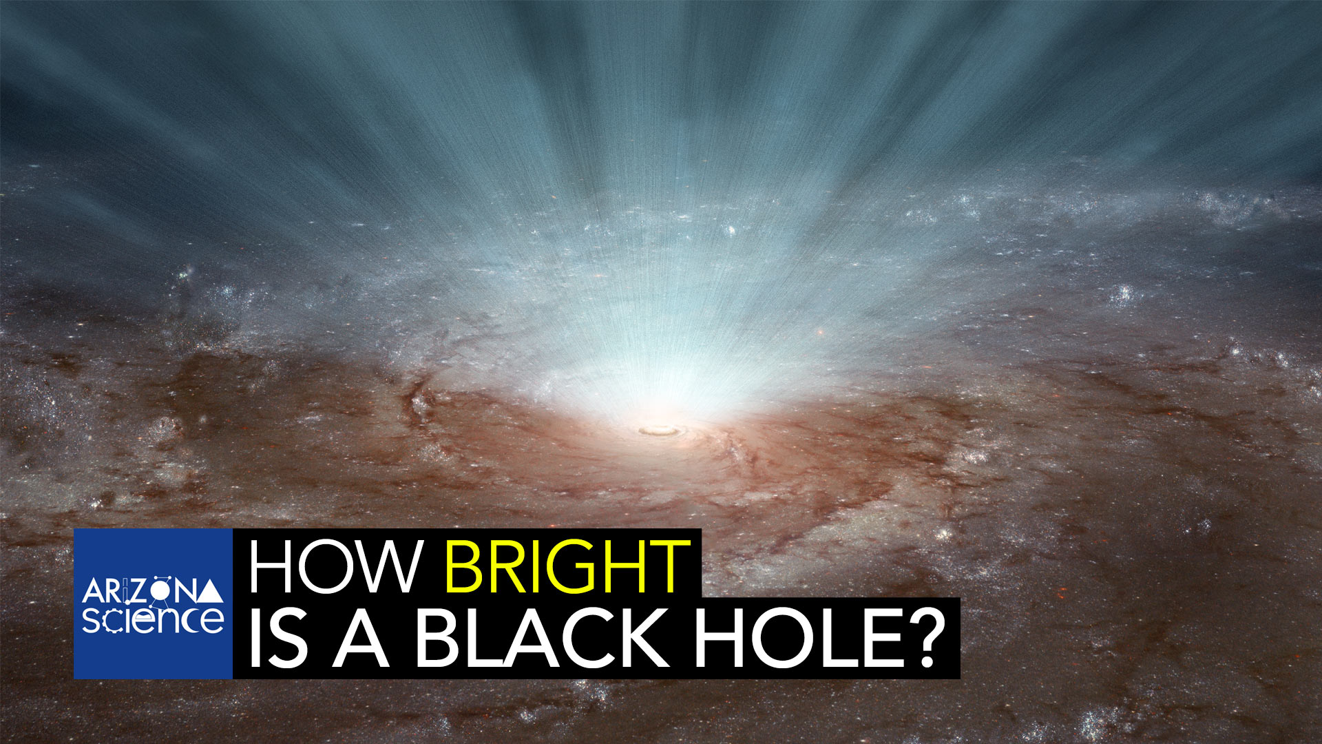 AZSCI How bright is a black hole?