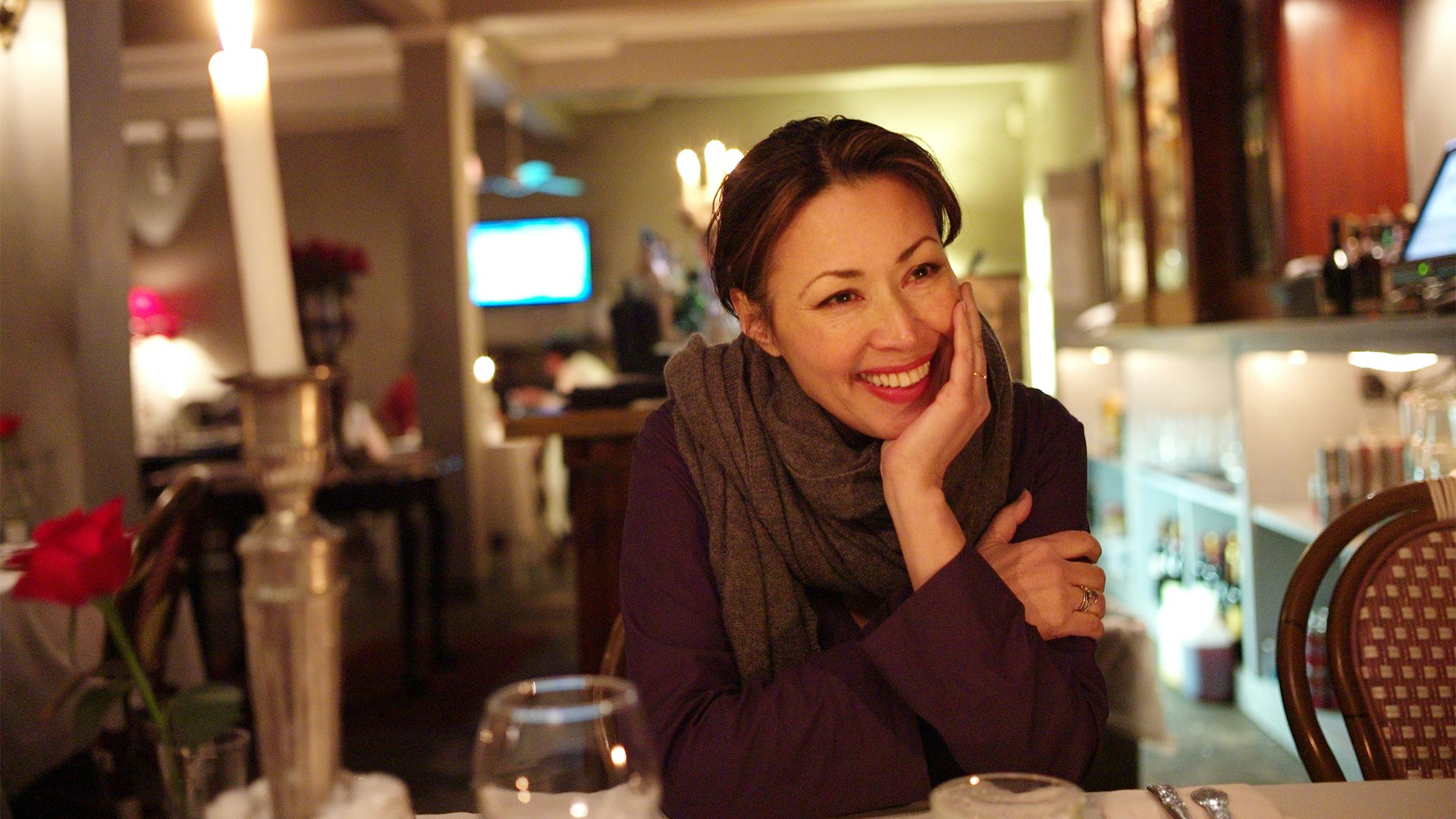 Ann Curry, executive producer and reporter for WE'LL MEET AGAIN