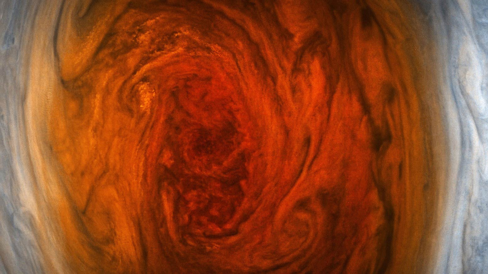 Jupiter's Great Red Spot imaged July 10, 2017.
