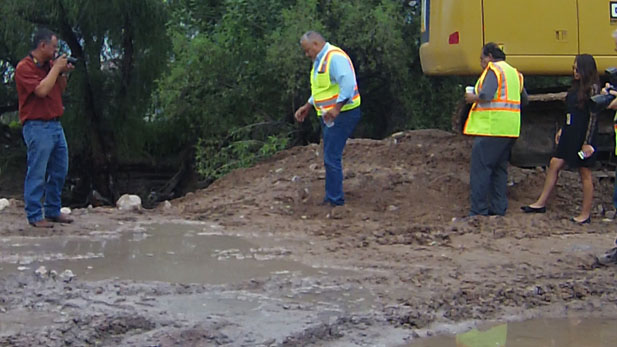 nogales sewer break spotlight