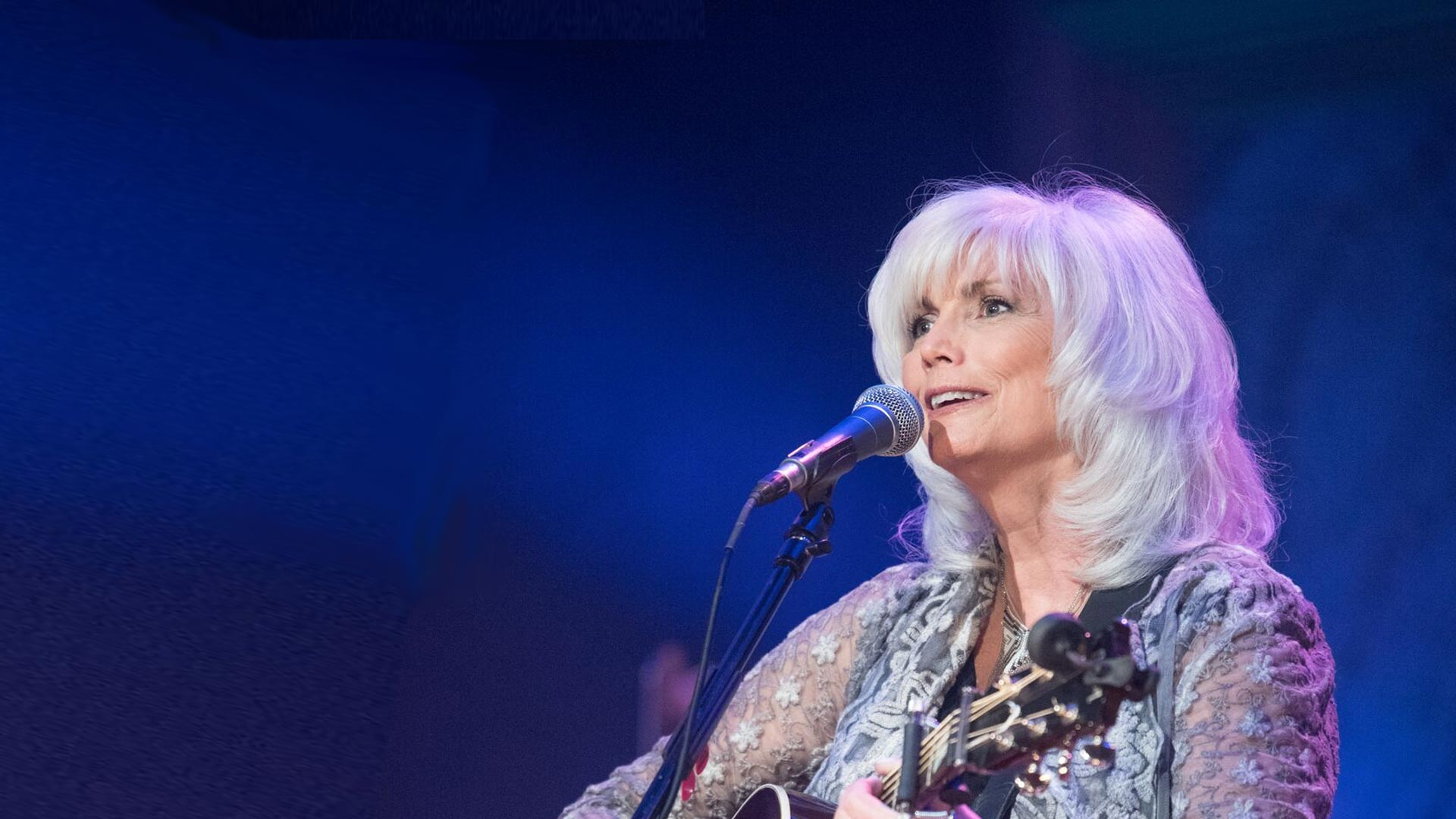 Emmylou Harris at the Ryman Auditorium
