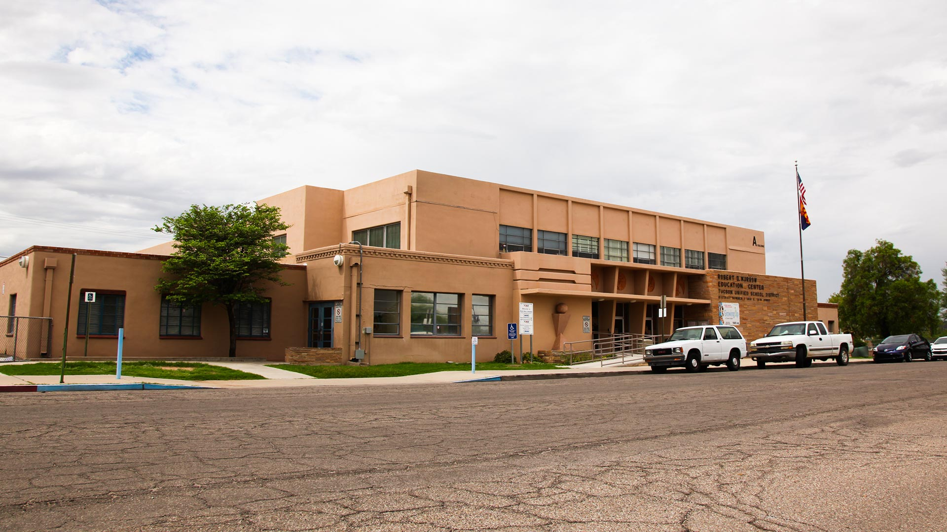 The Tucson Unified School District office, 1010 E. 10th St., Tucson.