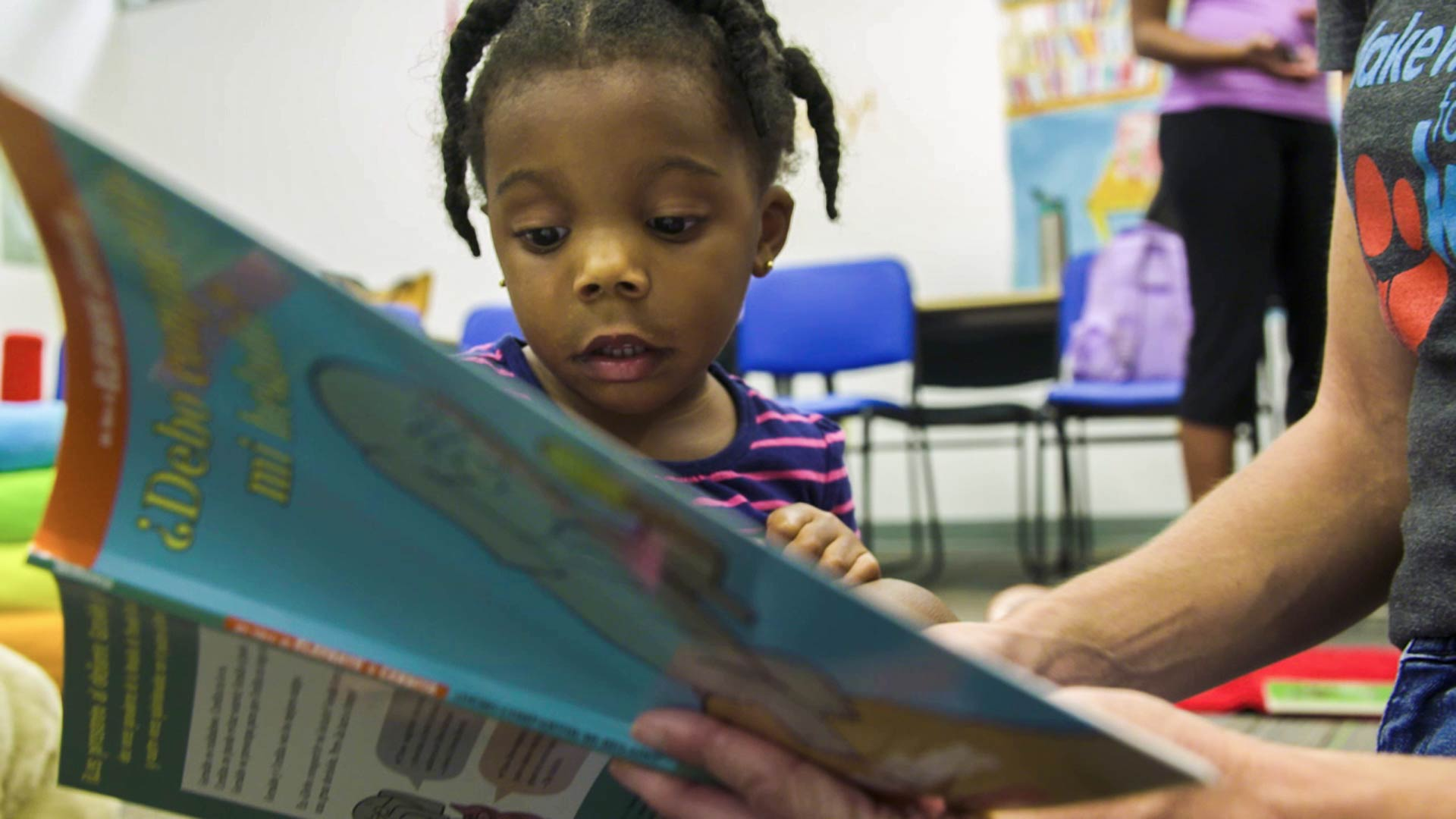 Make Way for Books aims to improve access to high-quality early-childhood education.