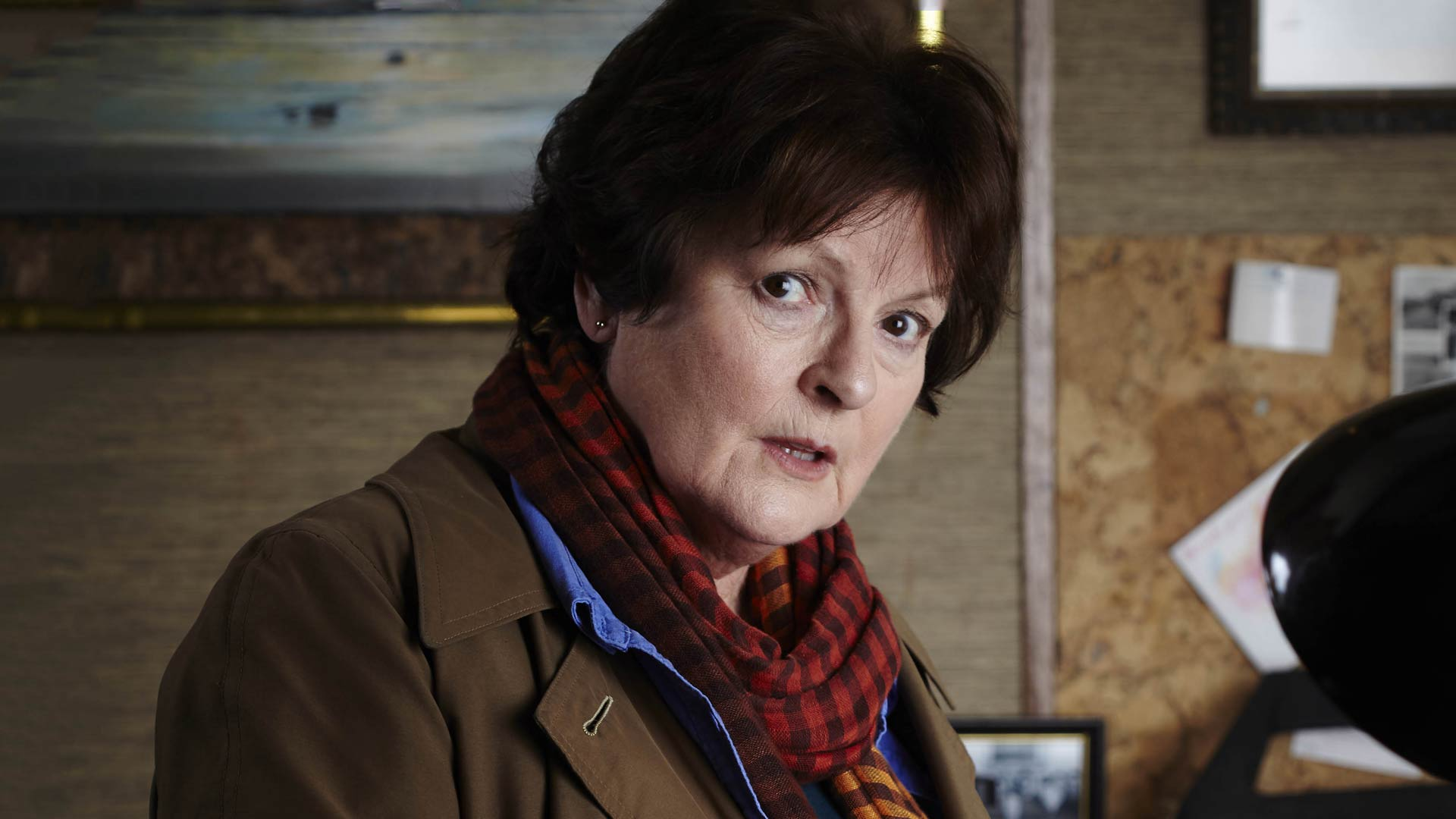 Brenda Blethyn as Chief Inspector Vera Stanhope