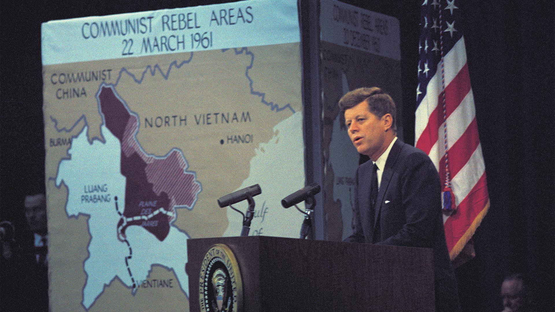 John F. Kennedy press conference, March 23, 1961.