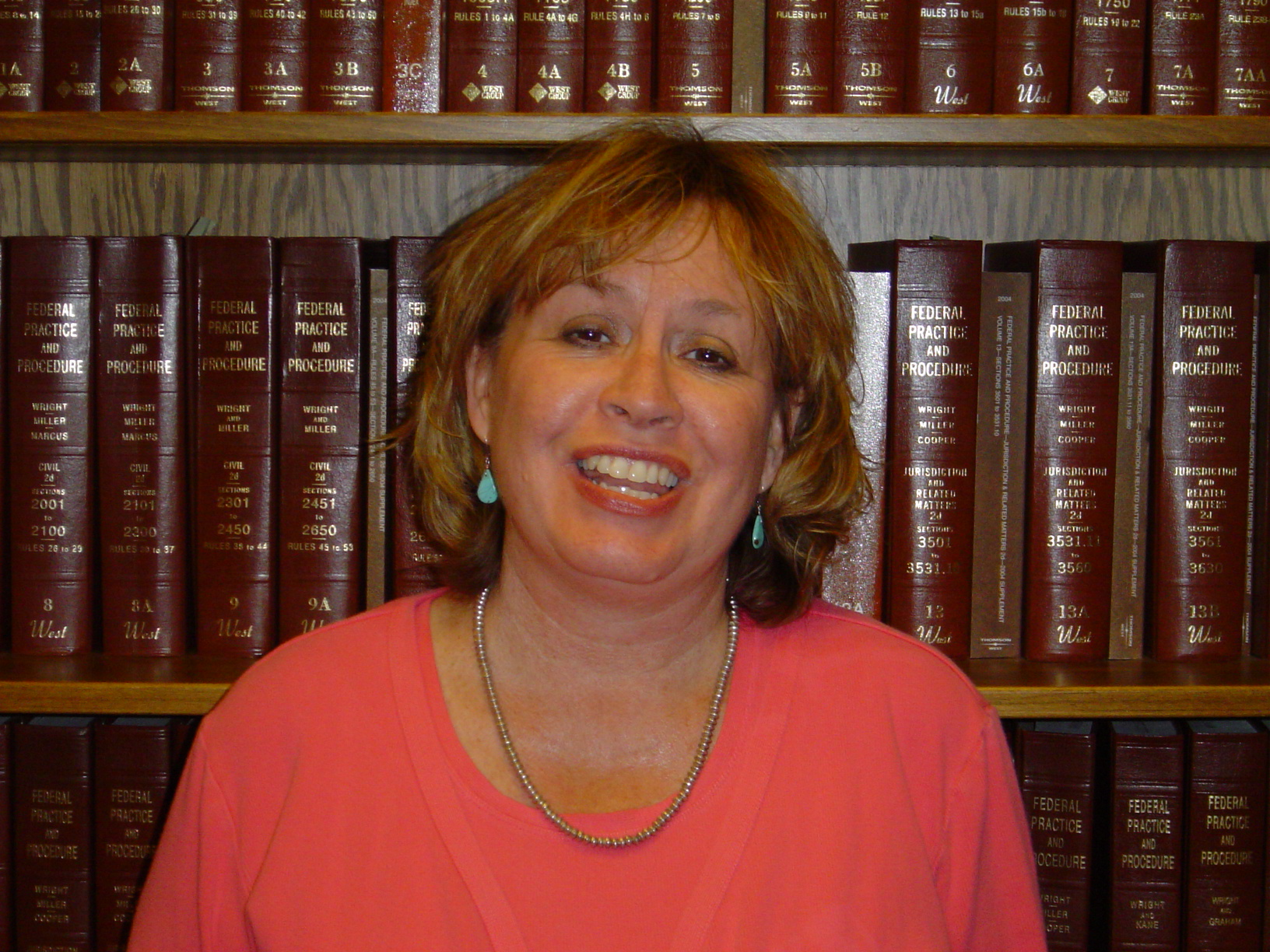 Mary Jo O'Neil is a federal attorney for the U.S. Equal Employment Opportunity Commission