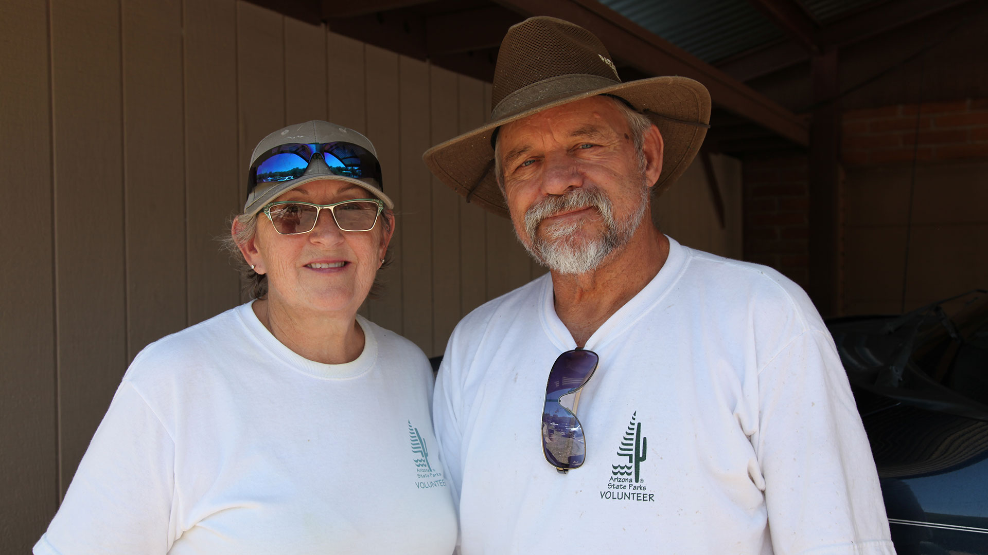 Leta and Jerry Bice found out about the state's volunteer program after moving to Arizona in 2016.