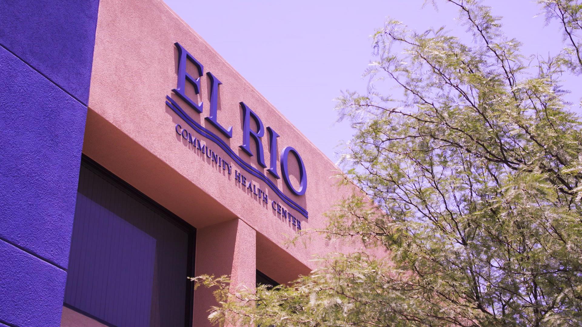Sign at an El Rio Community Health Center facility.
