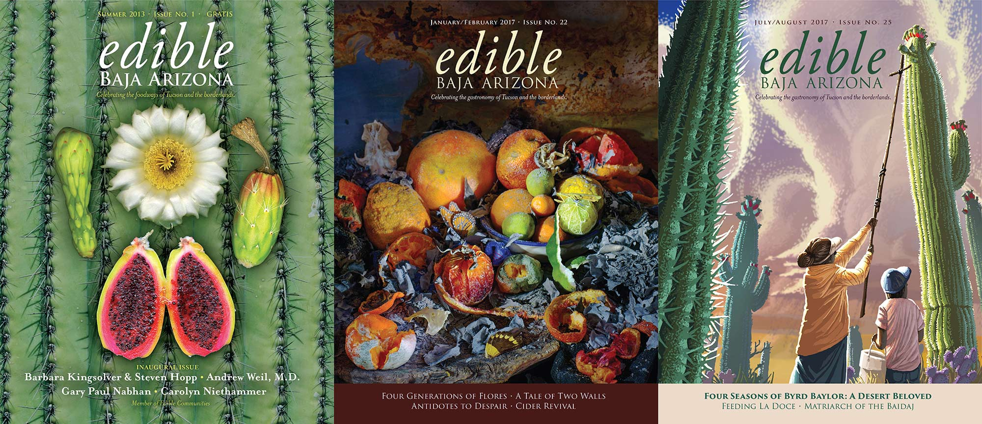 Edible Baja Arizona Magazine view larger