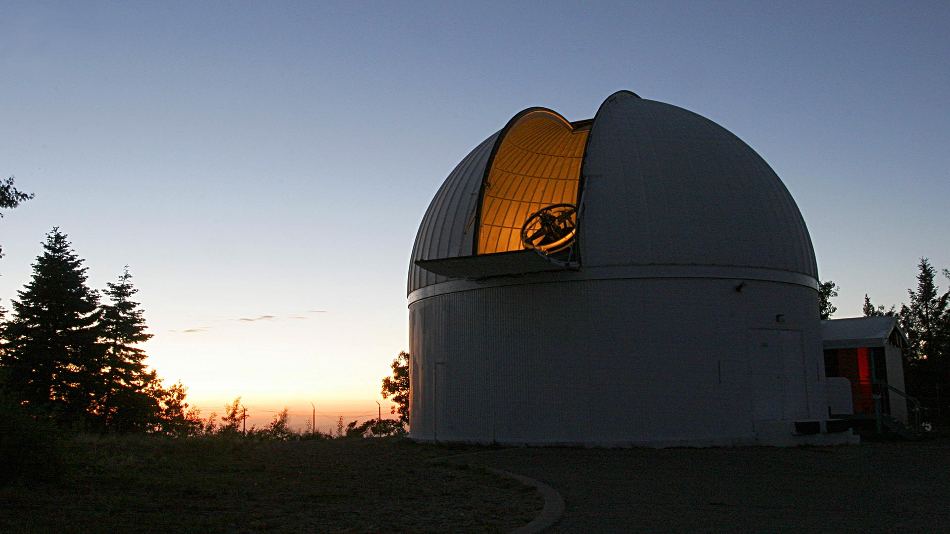 Catalina Sky Survey's 60-inch telescope atop Mount Lemmon.