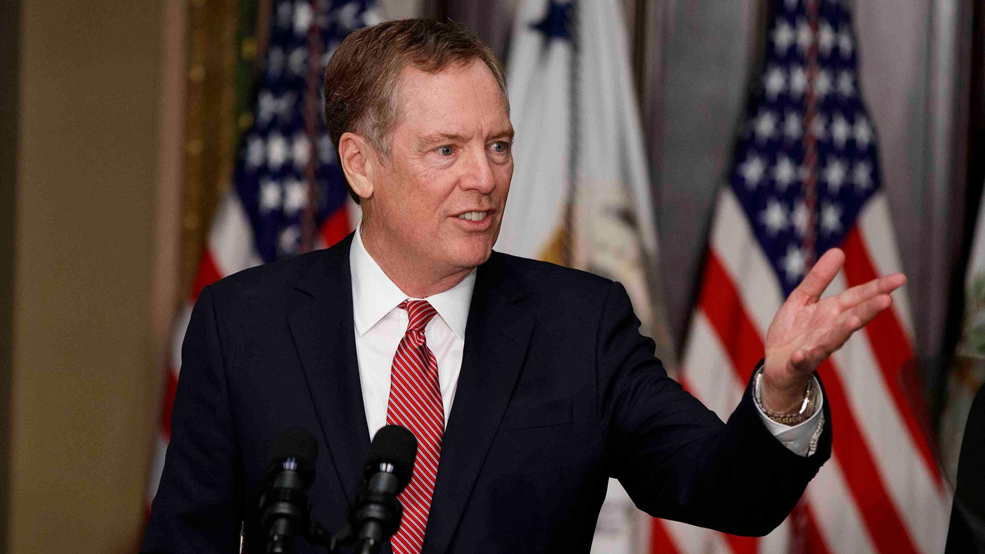 U.S. Trade Representative Robert Lighthizer.