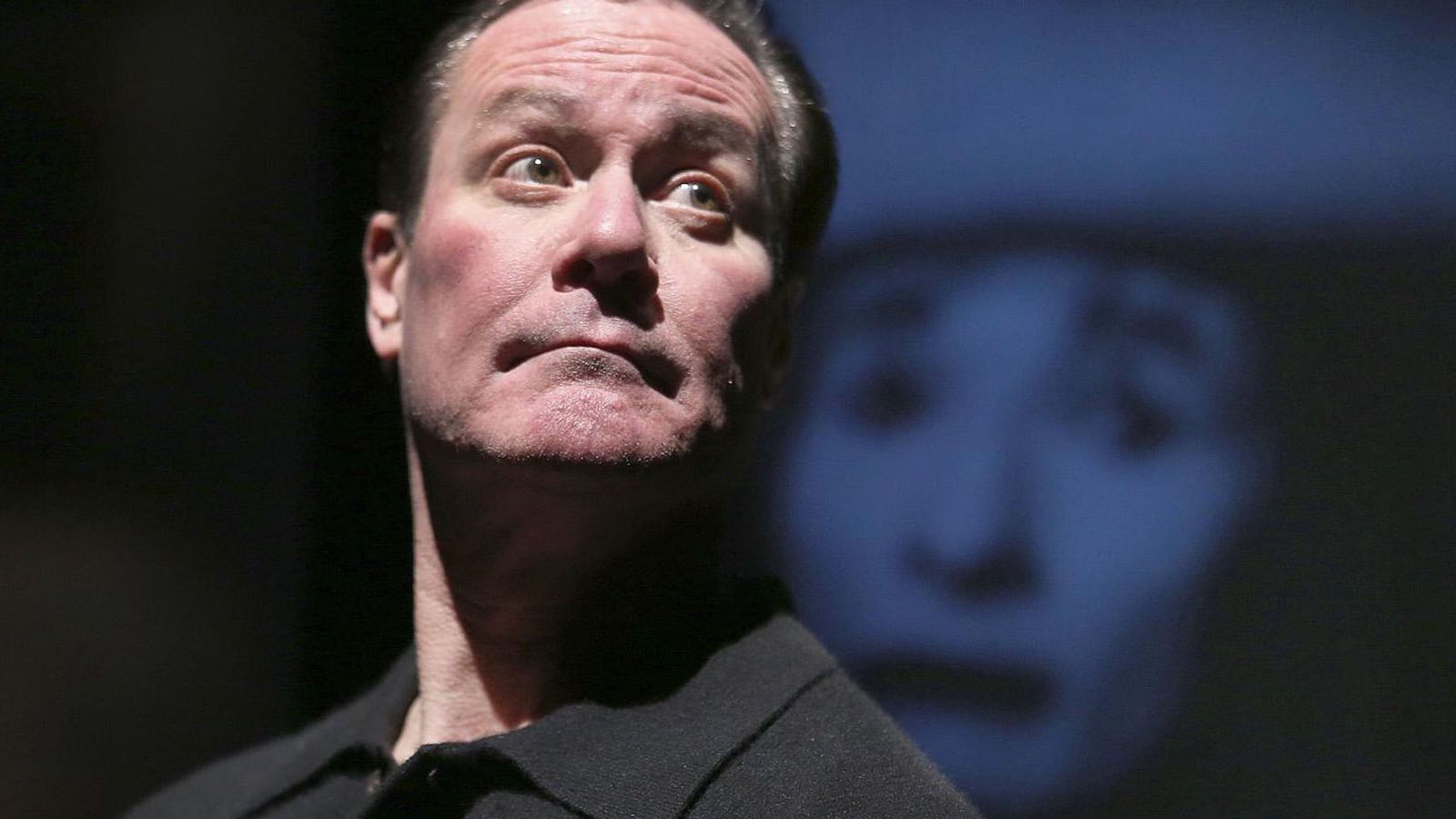 "Chris Lemmon pays tribute to his famous father Jack Lemmon in the stage show ""A Twist of Lemmon""."