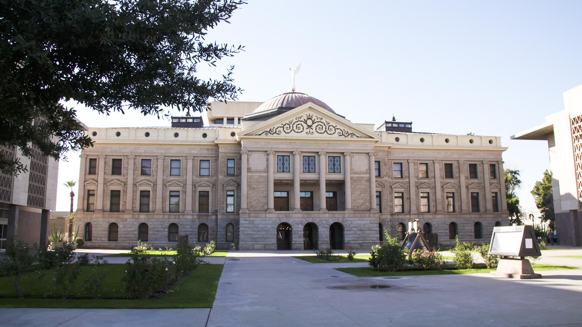 The Arizona Capitol.