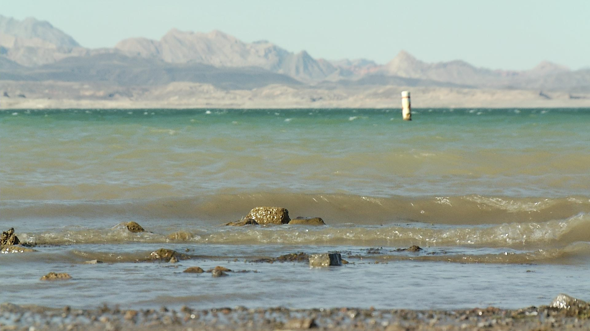 Officials say conservation efforts have kept Lake Mead water levels stable.