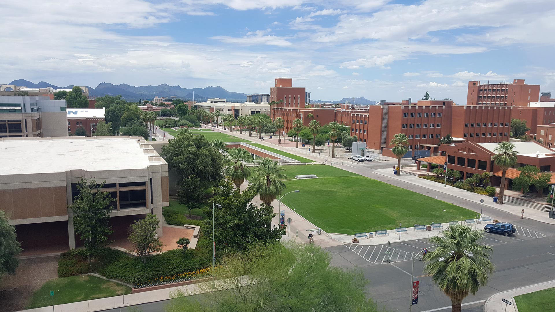 University of Arizona main campus.